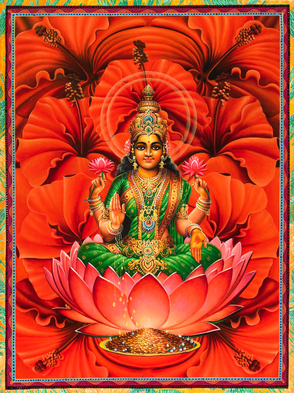 lakshmi finished by cacographyX on DeviantArt
