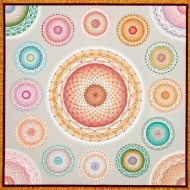<h5>Mandala World (white)</h5>