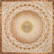 <h5>True Gold Mandala</h5>