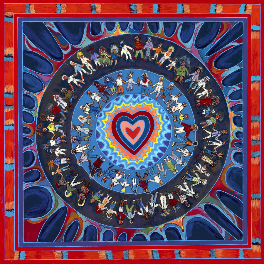 happy heart mandala mandalas com